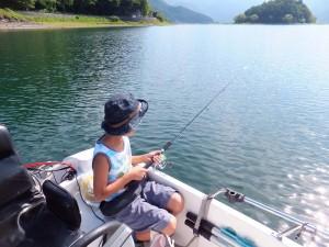 河口湖 釣り