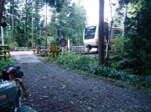 二俣尾駅近く