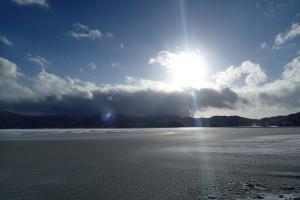 檜原湖日の出