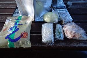 カレーきし麺材料