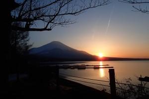 富士夕陽ー1