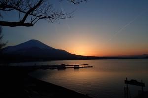 富士夕陽ー2