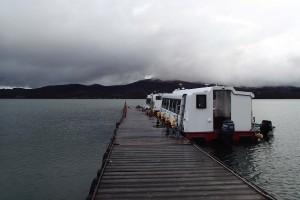 ドーム船・桟橋
