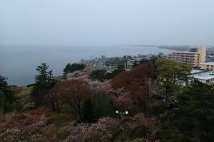 長浜城から湖北
