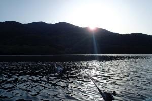 芦ノ湖日の出です