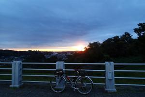 狭山湖夜明けだよ