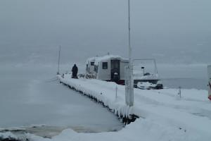 雪の山中湖-6
